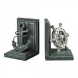Sterling Industries Coastal Book Ends - 87-8008